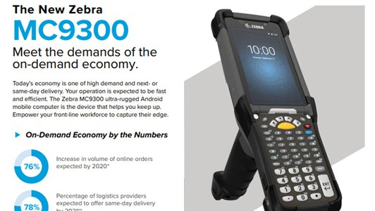 Zebra MC9300 Infographic
