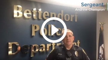 how bettendorf pd uses oscr360