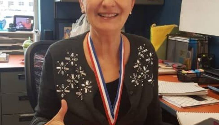 Gayle DeRose recognized as USA Masters Academy Tai Ji Student of the Month