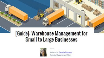 warehouse guide
