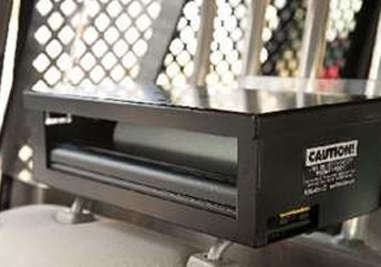 headrest printer mount