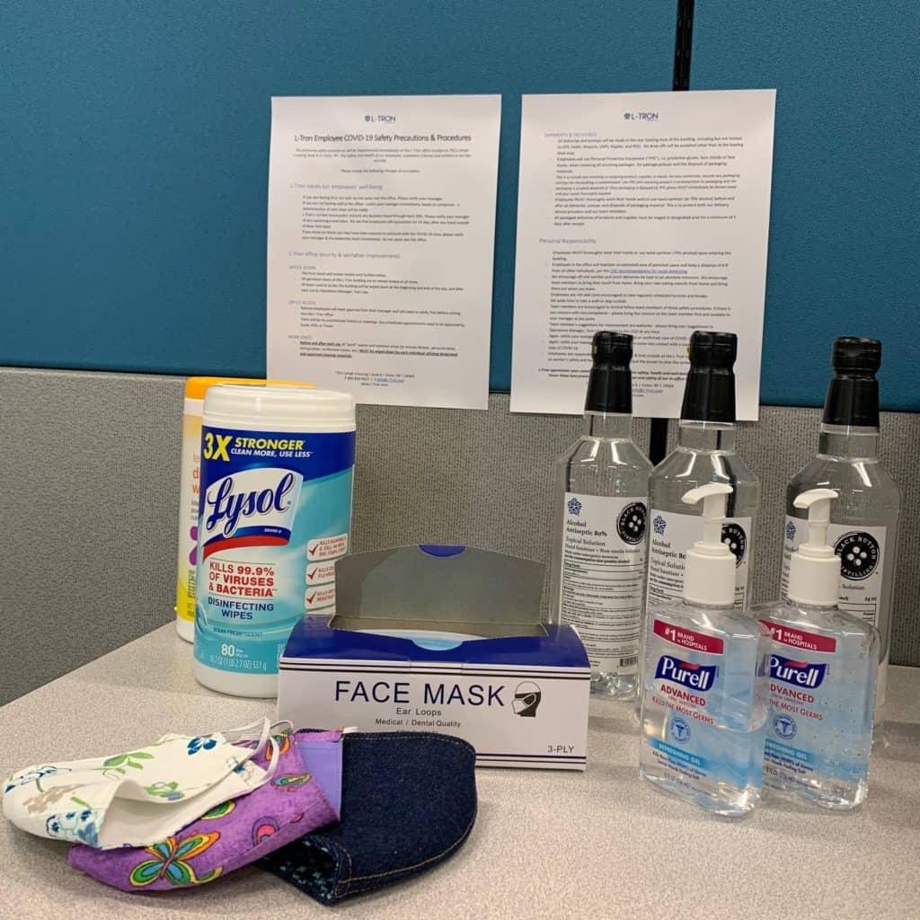 Sanitation procedures at LTC