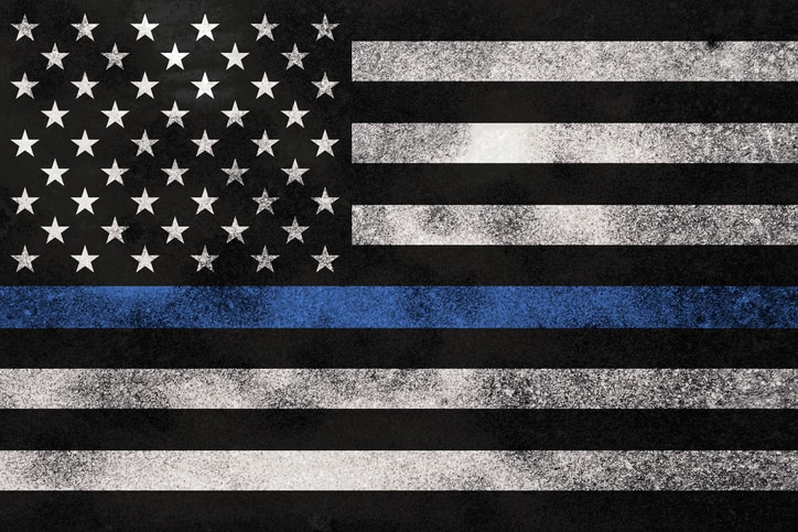 thin blue line - National Peace Officers memorial day