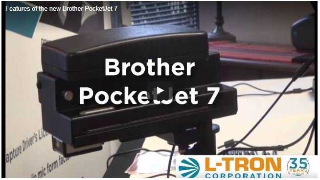 New Features of the Brother Pocketjet 7 Mobile Printer
