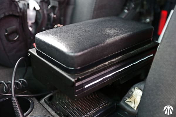 printer armrest mount