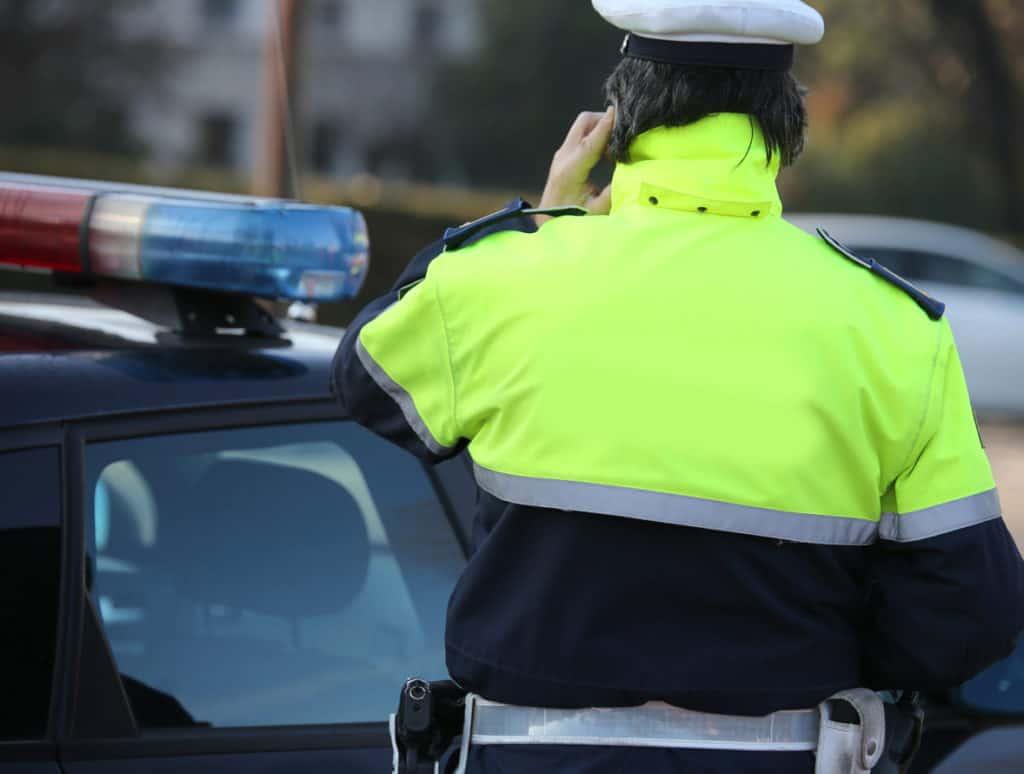 police communication - patrol vehicle routers