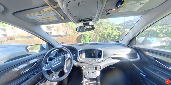 vehicle interior hdr