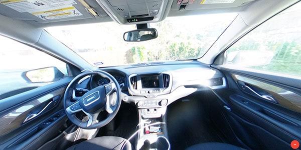 non hdr vehicle interior