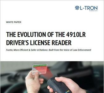 Evolution of the 4910LR Drivers License Reader