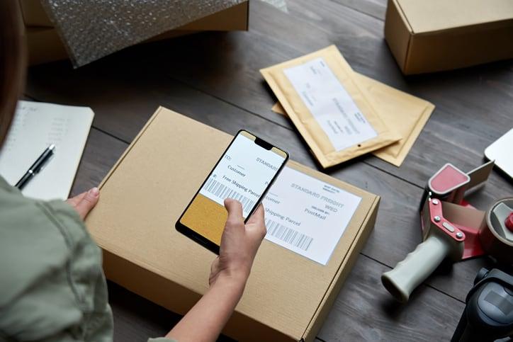Zebra Test Labels Barcode shipping labels
