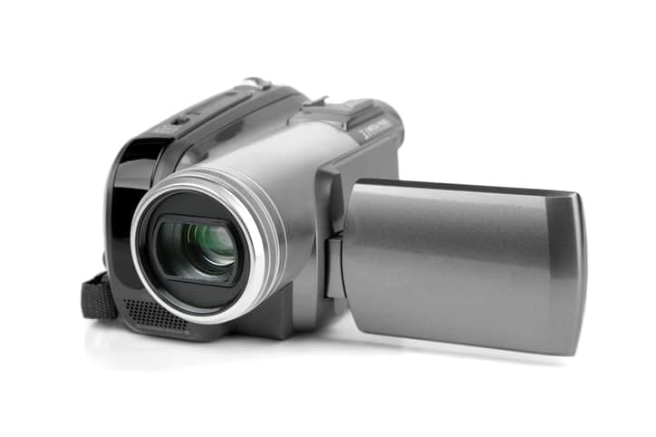 using video to record a crime scene